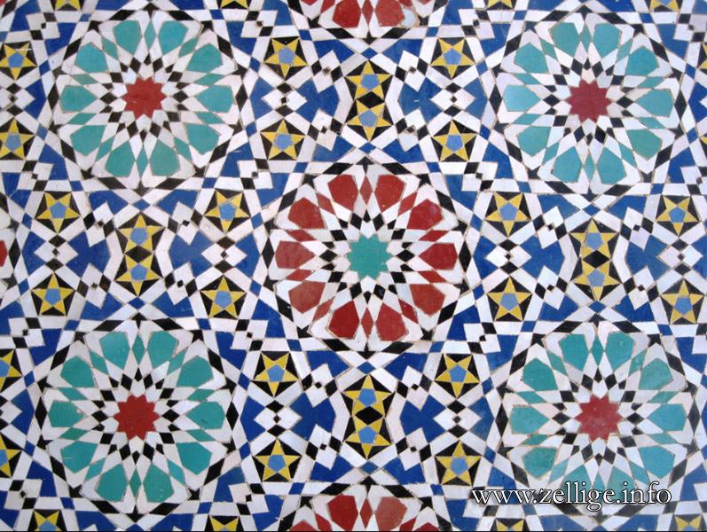 Zellige marocain galerie de photos histoire techniques for Zellige marocain salle de bain